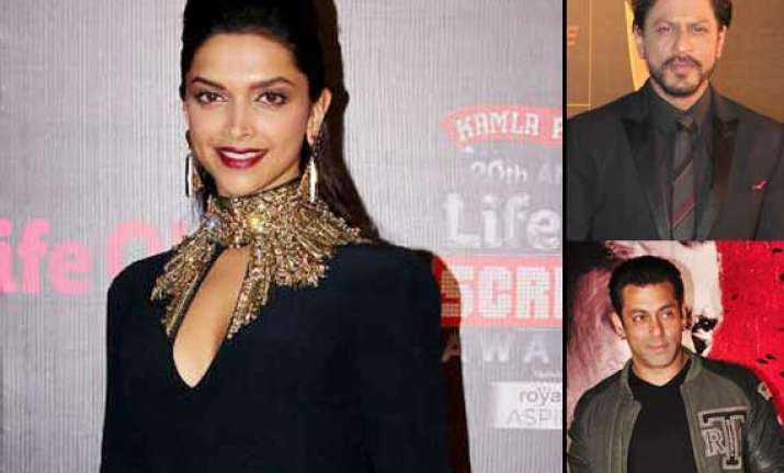 deepika rules over her fans beats salman shah rukh and big
