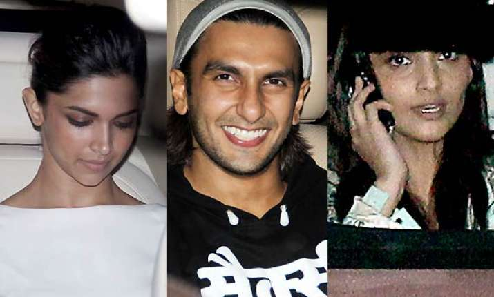 deepika ranveer sonam attend the special screening of 2