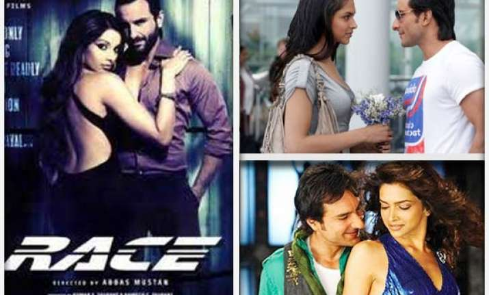 deepika to do hot scene with saif in race 2