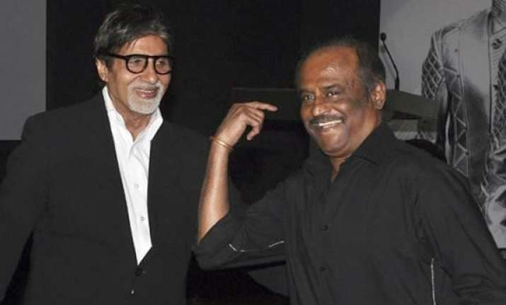 delighted to spend time with rajinikanth says big b