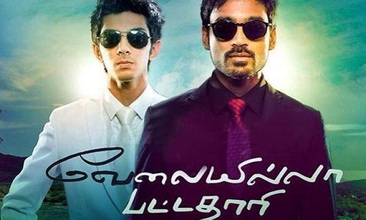 dhanush s tamil comedy vip cleared with u certificate
