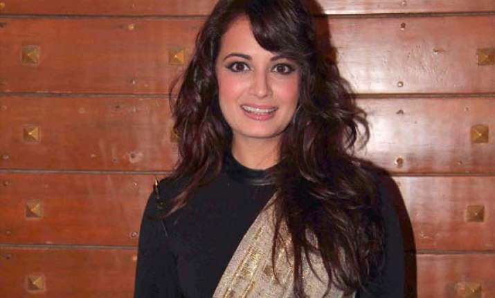 dia mirza unveils musical short film b for braille