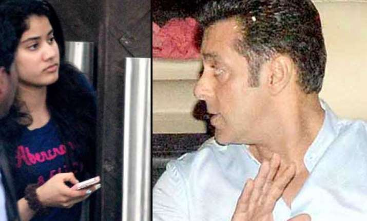 did salman khan visit sridevi s house to offer film to