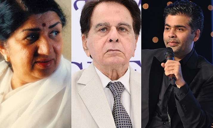 dilip kumar s biography launch lata to sing kjo to host