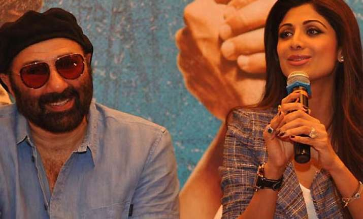 sunny deol is a safe bet for action films shilpa shetty see