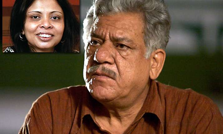 actor om puri absconding after assaulting his wife