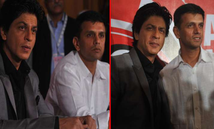 srk rahul dravid attend inaugural ceremony of tucc watch pix