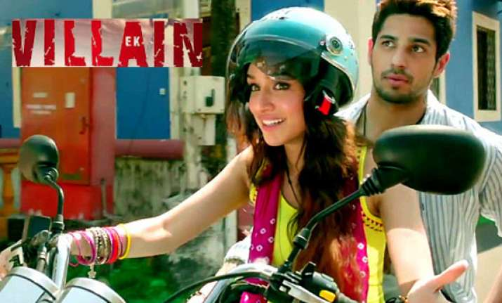 ek villain box office collection rs 72 cr in six days