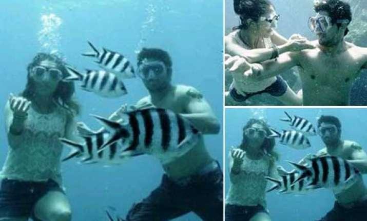 ek villain stars shraddha sidharth spend 7 hours underwater