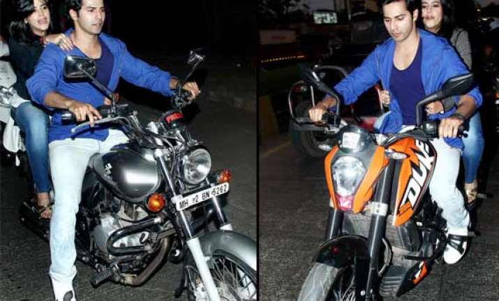 ekta kapoor finally lose my bike virginity to varun dhawan