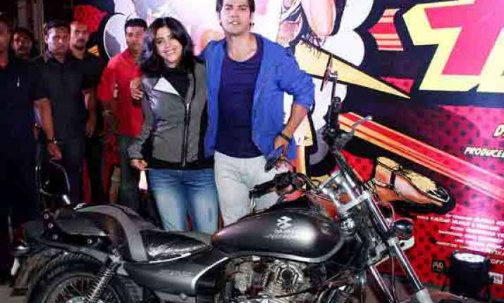 ekta kapoor found riding bike a tough experience view pics