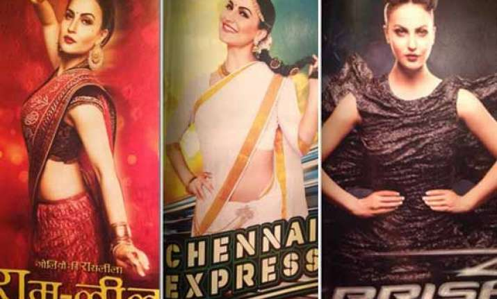 eli avaram mocks deepika and kangana by imitating them on