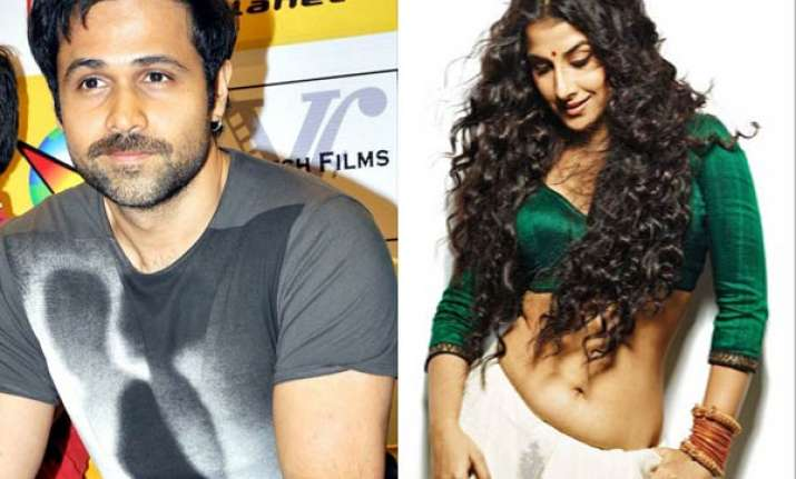 emraan to kiss vidya balan in dirty picture