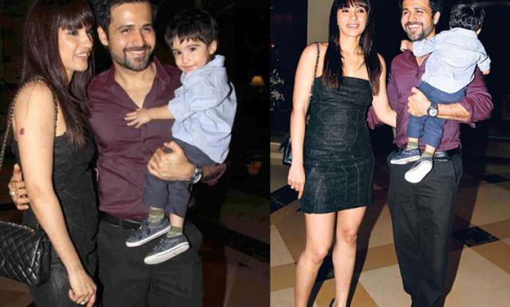 emraan s vacation with wife and kids in europe