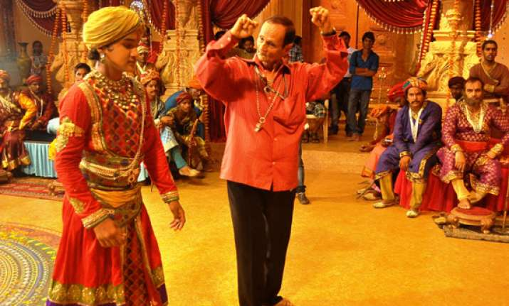faisal khan shoots classical dance sequence for maharana