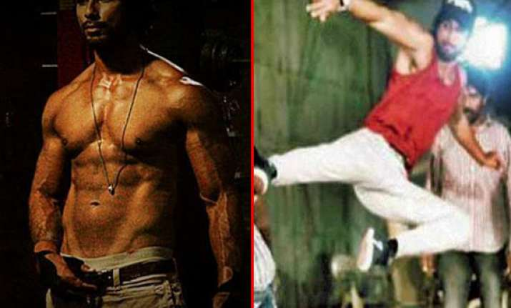 first look shahid kapoor dons brawny look for rambo