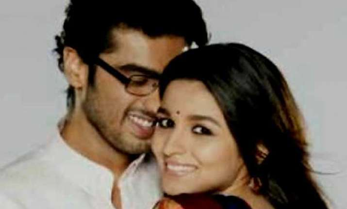 first look of 2 states out