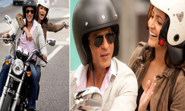 first look of srk with anushka in yash chopra film released