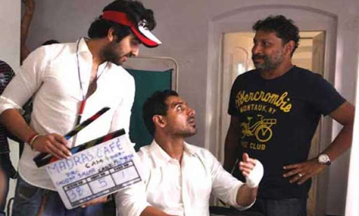 first schedule of madras cafe completed in south india