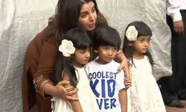 for farah khan her kids come first