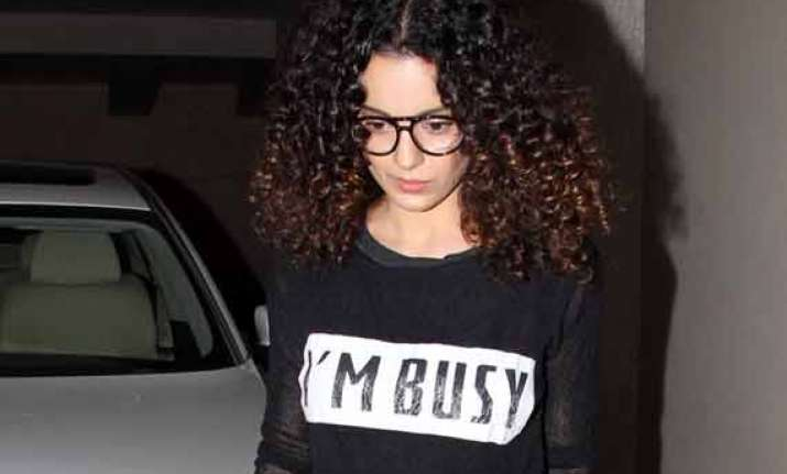 for kangana ranaut being always in limelight in the worst
