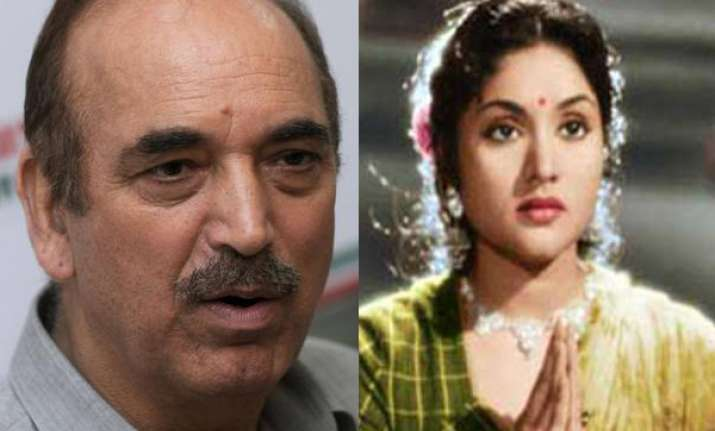 ghulam nabi azad helped vyjayanthimala to quit chewing paan
