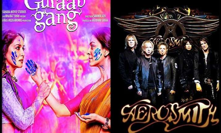 gulaab gang s connection with american band aerosmith