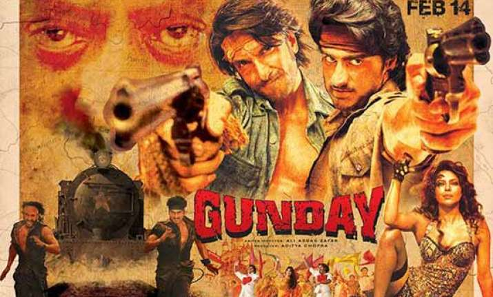 gunday box office collection rs 49.78 cr in four days