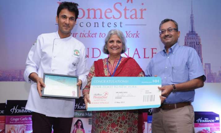 gurgaon s homemaker wins dabur hommade homestar contest