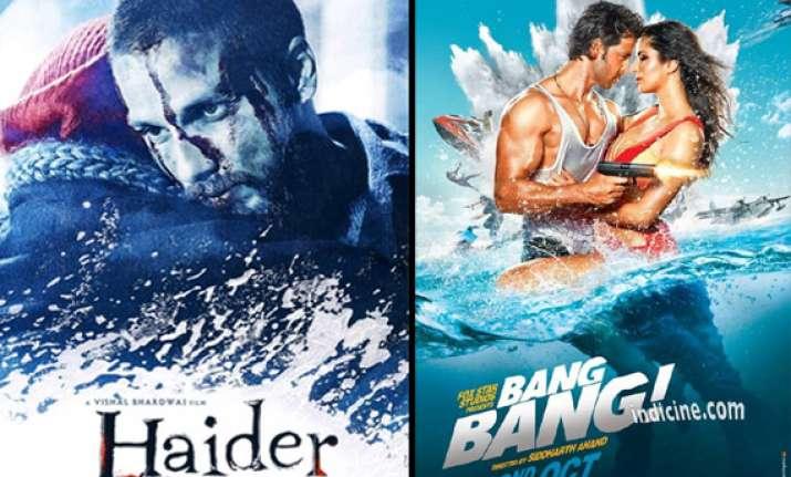 haider vs bang bang shahid kapoor hrithik roshan to clash