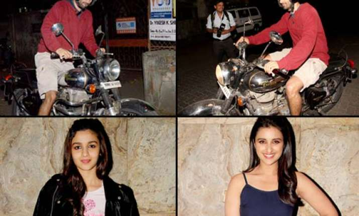 hassee toh phasee special screening aditya roy came riding