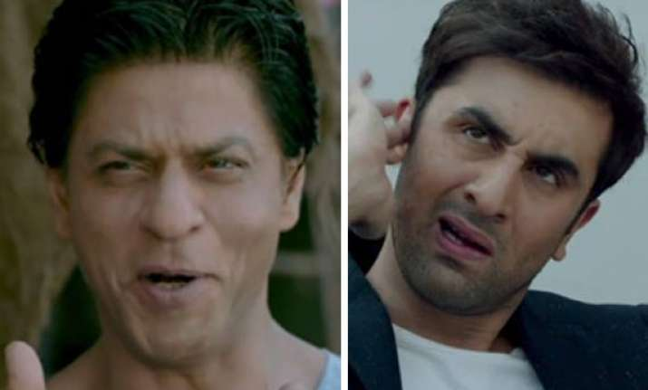 here it is shah rukh ranbir s cameo in amitabh bachchan