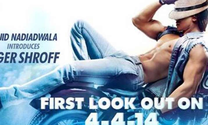 first look jackie shroff s son tiger s heropanti poster out