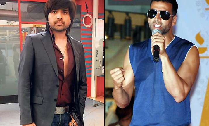 himesh to co produce action comedy with akshay