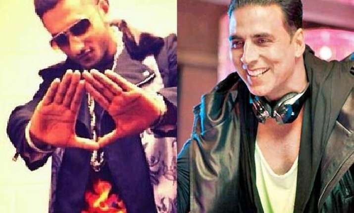 honey singh gifts akshay s shaukeen three songs
