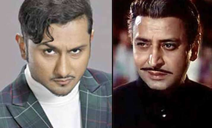 honey singh tries to copy pran in the xpose