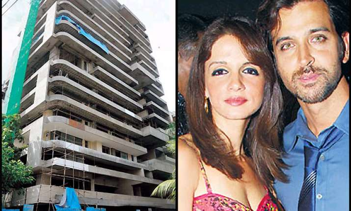 hrithik suzanne buy flat worth rs 25 crore in bandra