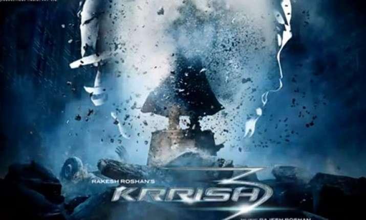 hrithik roshan unveils krrish 3 s first look view pics