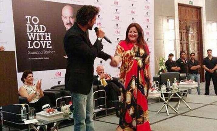 hrithik roshan praises sister says she is bravest on the