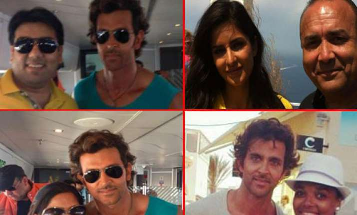 hrithik and katrina spotted in greece for bang bang view