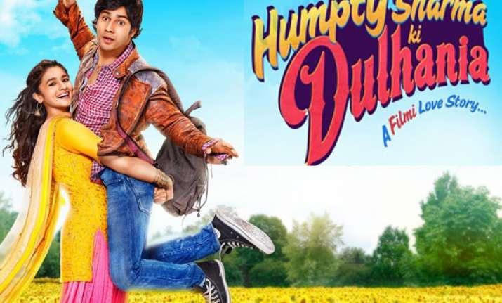 humpty sharma ki dulhania movie review alia varun as