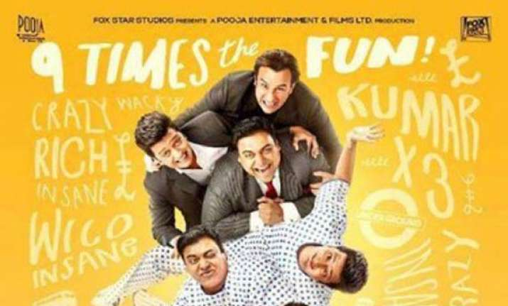 sajid khan s humshakals first poster out view pics