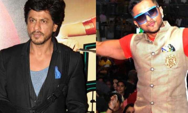 honey singh wants to work with shah rukh again