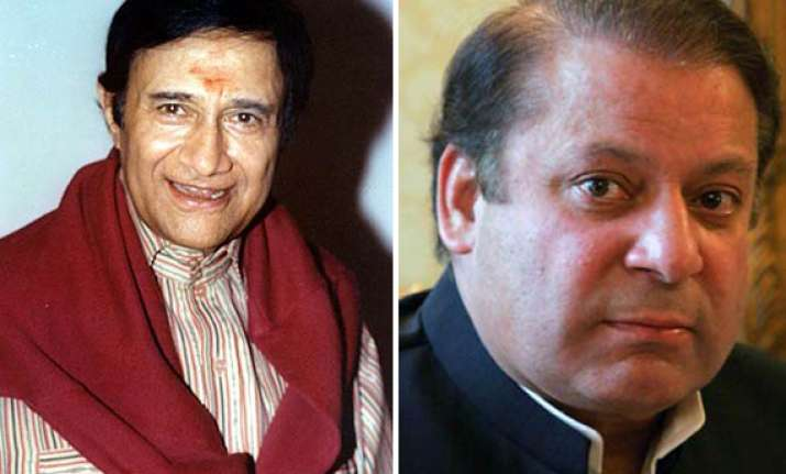 i wanted dev anand to come to lahore again says nawaz sharif