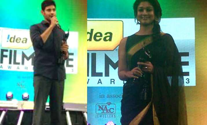 61st idea filmfare awards south take a look at complete