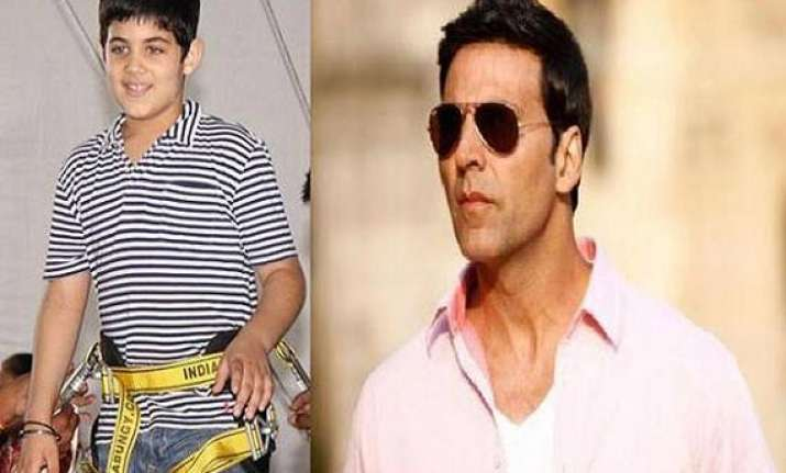 if aarav wants to be an actor he can akshay kumar