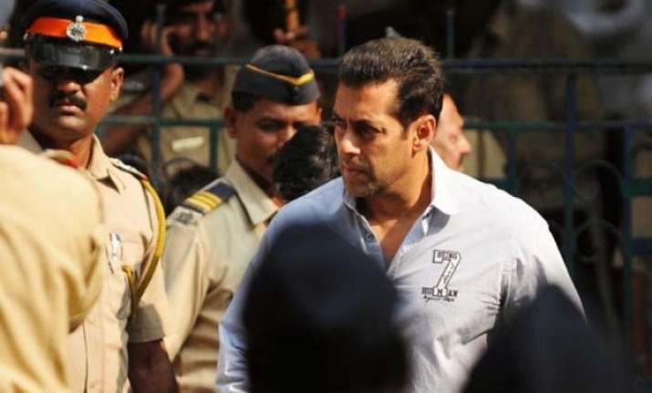 when i reached the spot i did not find salman khan says cop