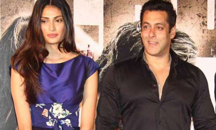 salman gave athiya shetty guidelines to succeed
