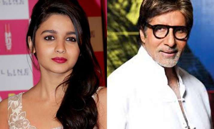 alia finds her first student big b