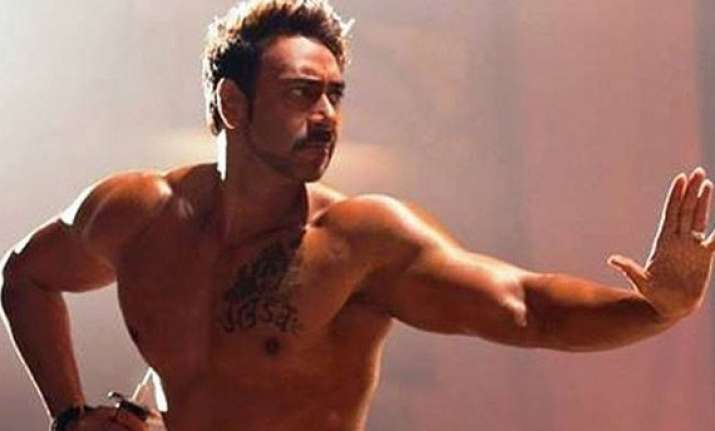 ajay devgn on his sword fight in action jackson